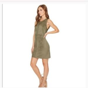 Kensie Faux Suede sheath dress